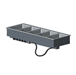 Vollrath 36408 5-Well Modular Drop-In - Infinite, Standard Drain, 625W, 208v