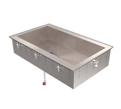 "Vollrath 36448R 6-Cold Pan Remote Modular Drop-In - 8"" Deep, 1/2 HP Compressor, 120v"
