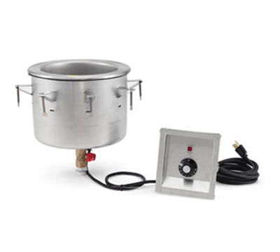 Vollrath 3646410 11-qt Soup Well Modular Drop-In - Thermostat Control, 120v