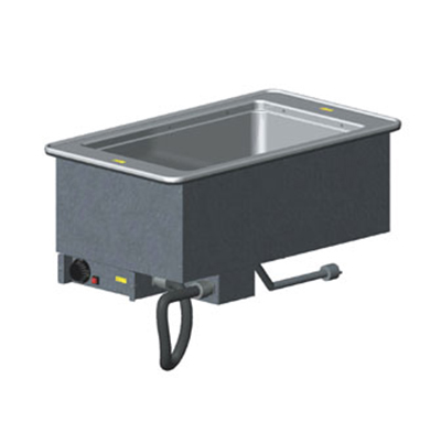 Vollrath 3646601 1-Well Modular Drop-In - Infinite Control, Standard Drain, 1000W 120v