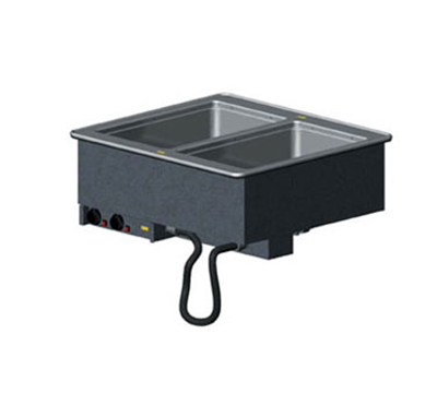 Vollrath 36472 2-Well Modular Drop-In - Infinite Control, Standard Drain, 625W 240v