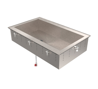 "Vollrath 36491 1-Cold Pan Modular Drop-In - Non-Refrigerated, 8"" Deep"