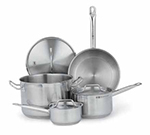 Vollrath 3822 Optio Deluxe Cookware Set - (7) Piece, Induction Ready, Stainless