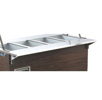 "Vollrath 38994 60"" Plate Rest for Cashier Station - Mounting Kit, 7"" Surface Width"