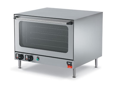 Vollrath 40702 Countertop Convection Oven - 4 Grid Shelves, Cool Touch Doors, Stainless 230v