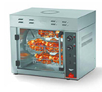 Vollrath 40704 Countertop Rotisserie Oven - 8 Bird Capacity, Fan, Stainless 208-240v