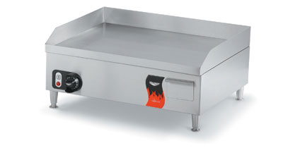 "Vollrath 40715 14"" Countertop Griddle - Thermostat, Stainless 120v"