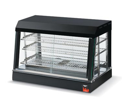 "Vollrath 40735 48"" Countertop Hot Food Merchandiser - 3 Adjustable Shelves, Thermostat 120v"