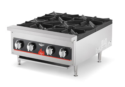 Vollrath 40737-PLATE 4-Burner Countertop Hot Plate