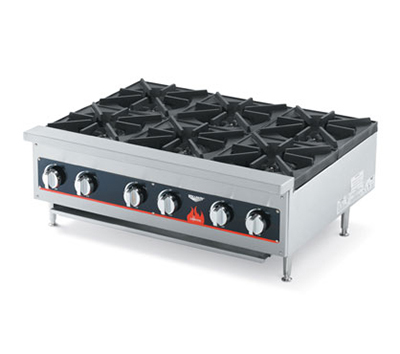 Vollrath 40738 6-Burner Countertop Hot Plate - LP Conversion Kit, 156,000 BTU NG