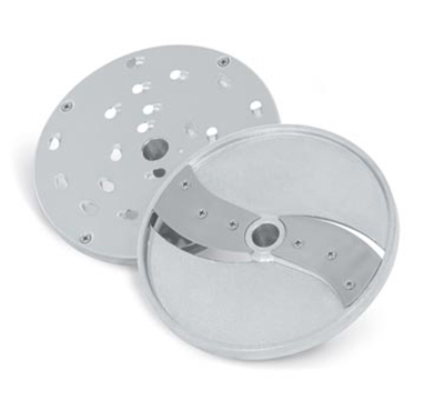 "Vollrath 40785 Vegetable Slicer Head - 5/16"" Shredder, 3/16"" Slicing Plates, Fits Floor Mixers"
