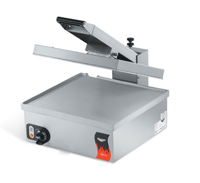 Vollrath 40793 Super-Size Sandwich Press - Smooth, Thermostat, Stainless 110v