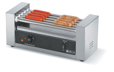 Vollrath 40820 12 Hot Dog Roller Grill - Flat Top, 120v