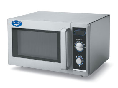 Vollrath 40830 1000w Commercial Microwave with Dial Control, 120/1v