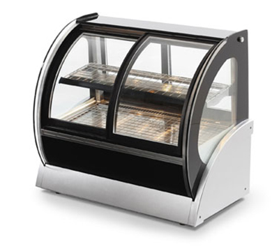 "Vollrath 40882 60"" Curved Refrigerated Cabinet - Front Access, 1/4HP 120v"