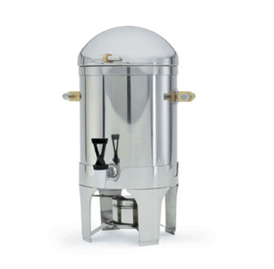 Vollrath 46093 3-Gal Coffee Urn - Fuel Holder Included, Brilliant Finish S