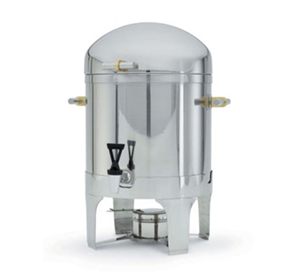 Vollrath 46094 5-Gal Coffee Urn - Fuel Holder Included, Brilliant Finish Stainl