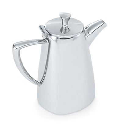 Vollrath 46200 10-oz Coffee Pot - Mirror-Finish Stainless