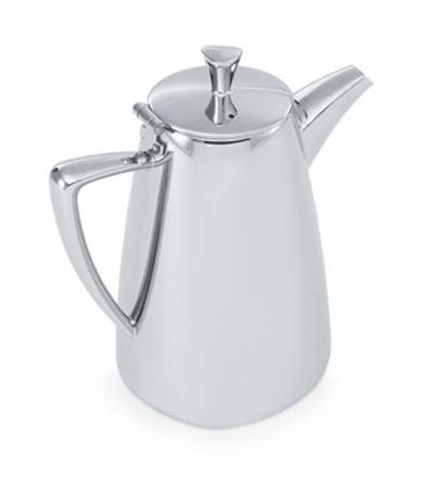 Vollrath 46201 20-oz Coffee Pot - Mirror-Finish Stainless