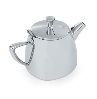 Vollrath 46207 12-oz Tea Pot - Mirror-Finish Stainless