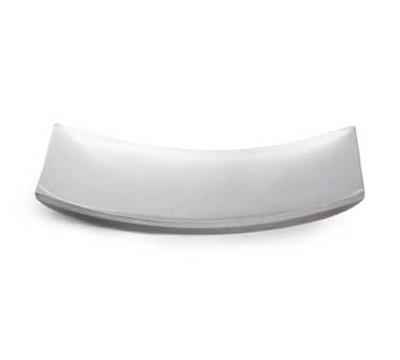 "Vollrath 46223 Curved Double-Wall Platter - 15x8-1/4"" Stainless"