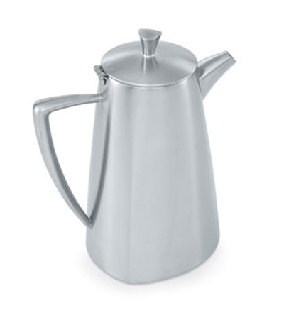 Vollrath 46303 2.3-qt Coffee Pot - Satin-Finish Stainless