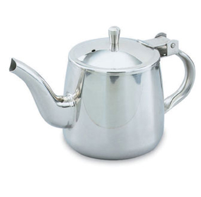 Vollrath 46310 10-oz Gooseneck Teapot - Mirror-Finish Stainless