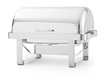 Vollrath 46350 9-qt Economy Retractable Rectangular Chafer - Mirror-Finish Stainless