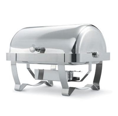 Vollrath 46520 9-qt Retractable Rectangular Full-Size Chafer - Mirror-Finish Stainless