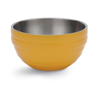 Vollrath 46591-45 3.4-qt Round Insulated Bowl - 18-ga Stainless, Nugge