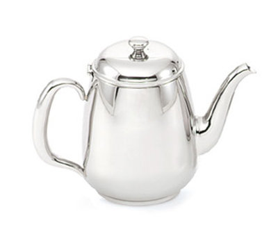 Vollrath 46595 34-oz Coffee Server - Gooseneck, Hollow Handle, Mirror-Finish Stainless