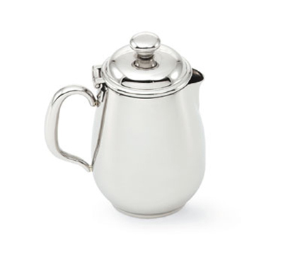 Vollrath 46598 12-oz Creamer/Server with Cover - Mirror-Finish Stainless
