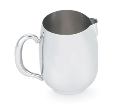 Vollrath 46634 68-oz Water Pitcher - Hollow Handle, Mirror-Finish Stainless