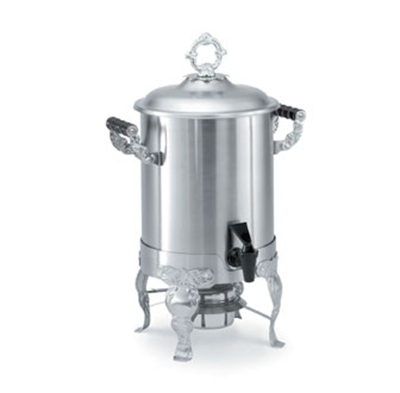 Vollrath 46884 3-Gal Coffee Urn - Wood Handles, Stainless