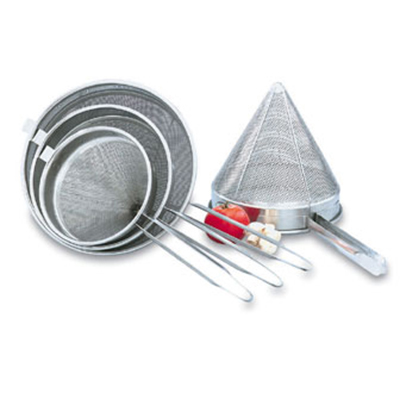 "Vollrath 47166 Fine Mesh China Cap - 8x8x18"" Stainless"