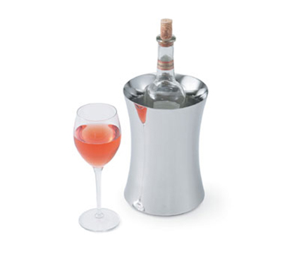 Vollrath 47616 Insulated Wine Cooler - Hourglass Shape, Mirror-