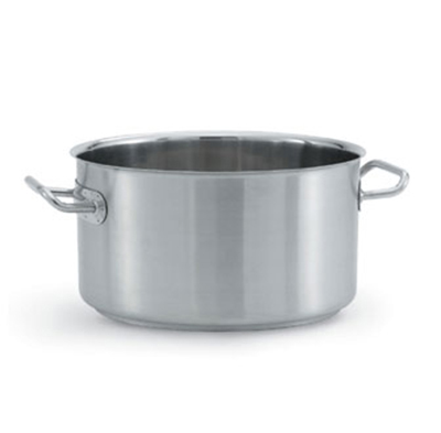 Vollrath 47730 7-qt Sauce Pot - Aluminum Bottom, 18-ga St