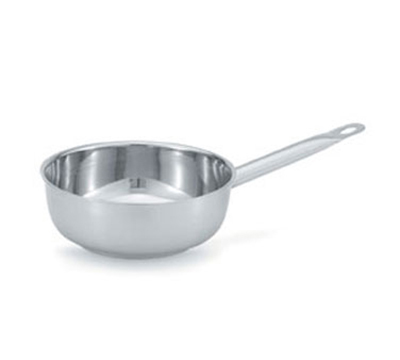 Vollrath 47790 1-qt Saucier - Hollow Handle, Aluminum Bottom, 18-