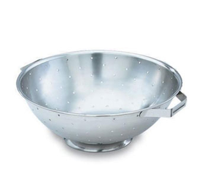 Vollrath 47974 14-qt Colander with Handles - Footed Base, Stainless