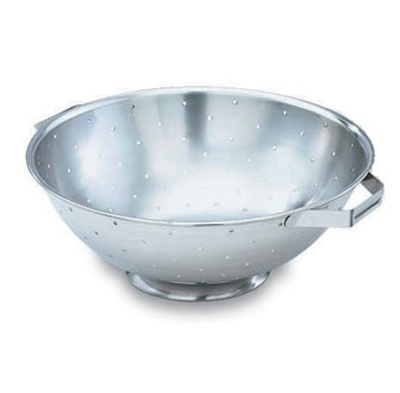 Vollrath 47965 5-qt Colander with Handles - Footed Base, S
