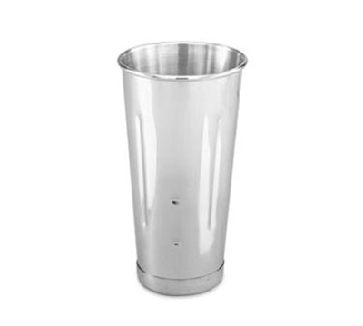 Vollrath 48070 30-oz Malt Cup - Mirror-Finish Stainless