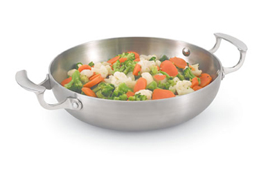"Vollrath 49424 10"" French Omelet Pan - Alu"