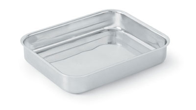Vollrath 49434 2.8-qt Small Food Pan - Aluminum Bottom, 18-ga Stainless
