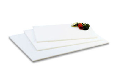 "Vollrath 5200000 Poly Cutting Board - 12x18x1/2"" White"