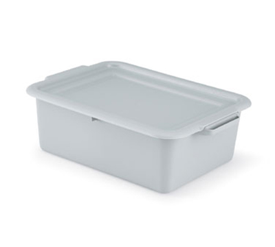 "Vollrath 52424 Dish Box Cover - 20x15"" Gray"