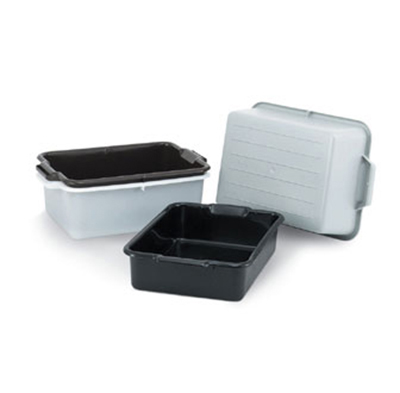 "Vollrath 52611 Bus Box - 20x15x5"" Black"