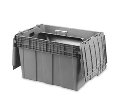 "Vollrath 52647 Tote 'N Store Chafer Box - 28-3/4x20-3/4x18-3/4"" Gray"