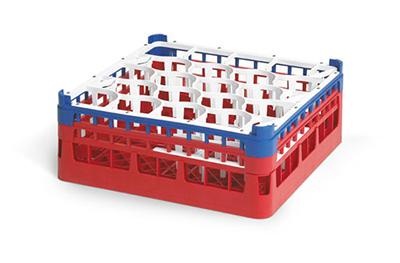 Vollrath 5270202 Dishwasher Rack - 20-Lemon-Drop, Medium-Plus, Full-Size, 19-3/4x19-3/4&quot