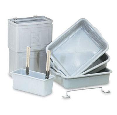 Vollrath 97286 Bussing System Kit - For Standard Carts, Gray