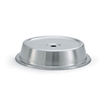 "Vollrath 62311 Plate Cover for 10-7/16""- 10-1/2"" Satin-Finish Stainless"